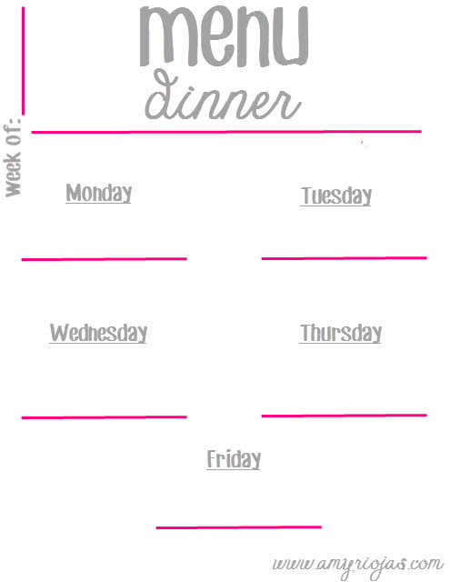 MenuPrintable_dinner