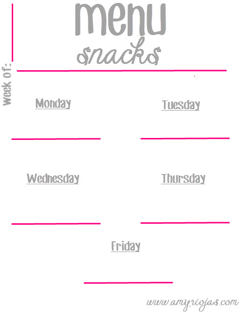 MenuPrintable_snacks