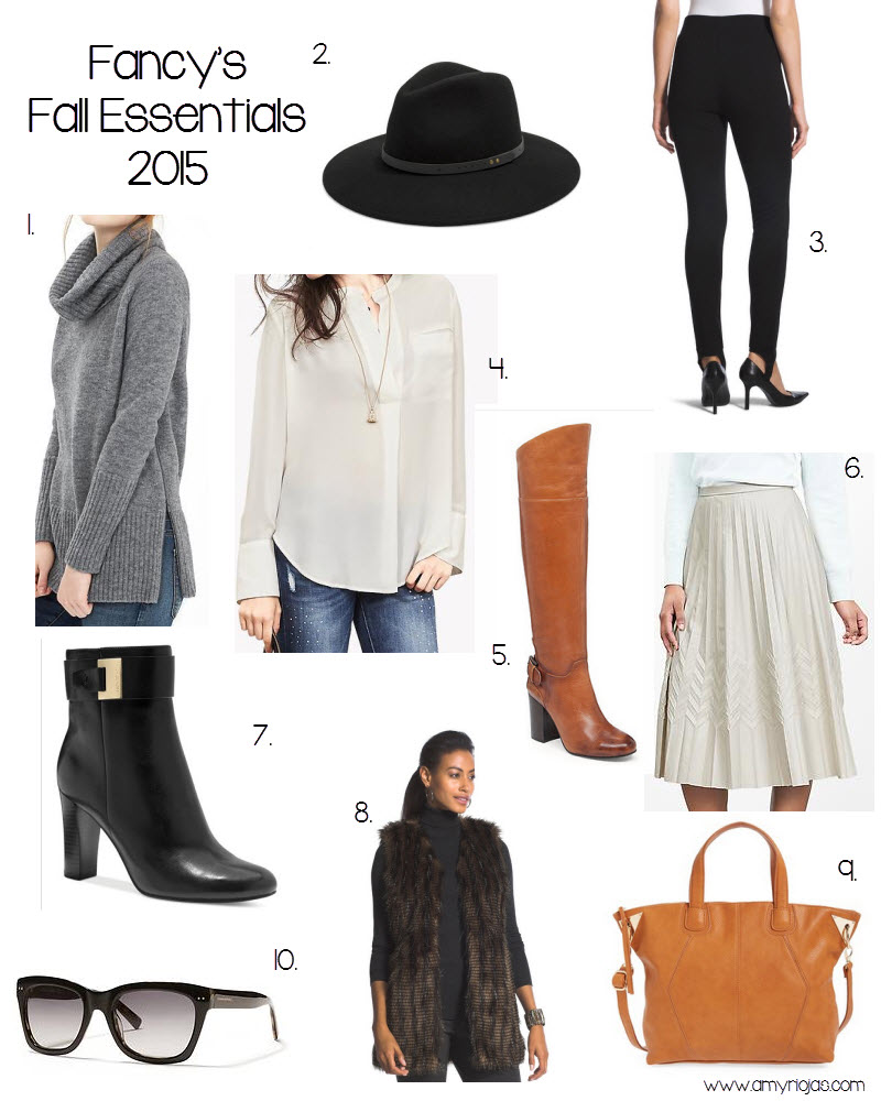 Fancy's Fall Favs 2015